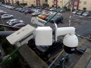 Instalación y mantenimiento de cámaras de seguridad y PTZ